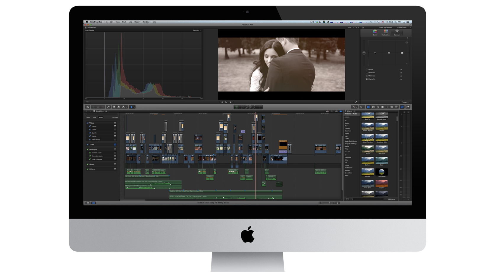 FCPX for wedding videography