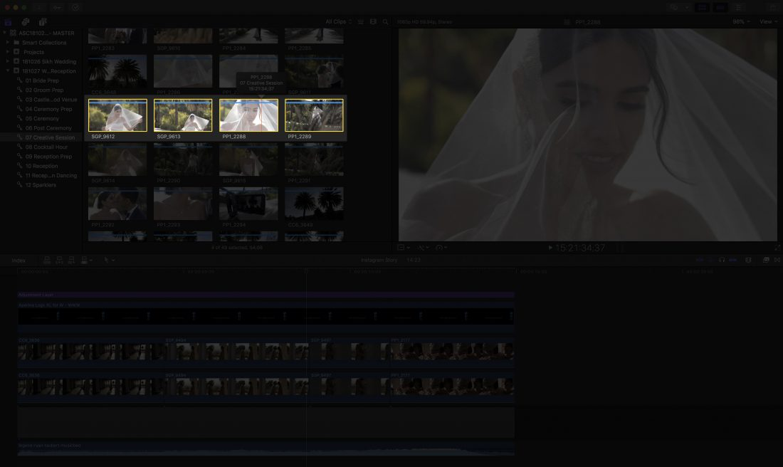 Tips for wedding videographers - Syncing the time between all your cameras and audio devices