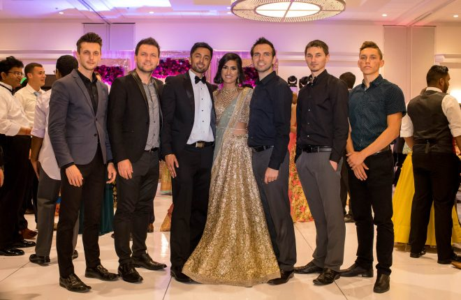 Wedding Videography team Aperina Studios on Bani and Ronak's wedding