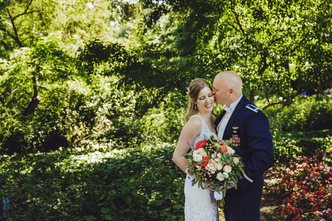 The Bride and Groom - formal portrait of Chris and Anna at the Madrona Manor. Destination Wedding in Napa Valley.