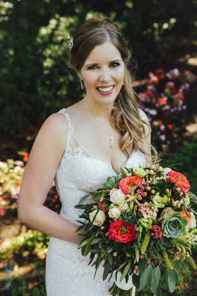 Bride's photos at Madrona Manor in the heart of Napa Valley by Aperina Studio, Wedding Photography.