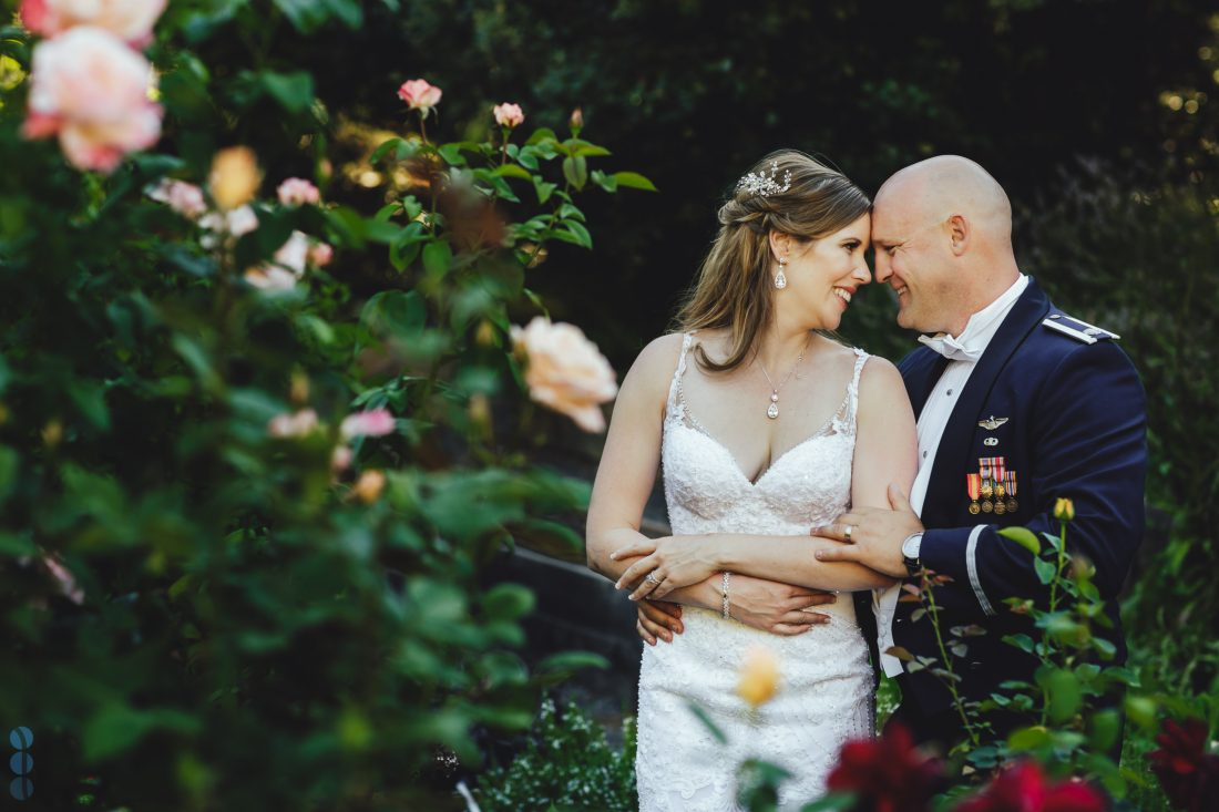 Napa Valley Wedding Photography at Madrona Manor of Chris & Anna during the sunset
