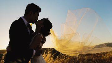 Romantic Wedding Film from California Vineyard Wedding at Nella Terra Cellars - The Bride and Groom: Chanh & Angela