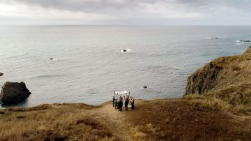 Jewish Wedding on the Ocean Bluffs of Mendocino California - Cinematic Wedding Film