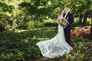 Wedding at Madrona Manor in Healdsburg California - Classic Bride and Groom Portrait