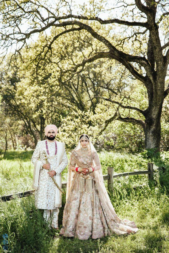 Smoke Bombs at an Indian Wedding in Sacramento, CA - Same