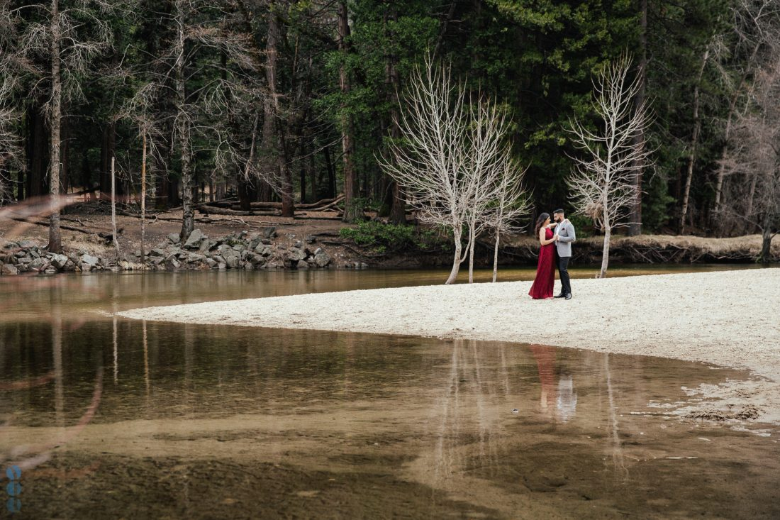 Classy and Elegant photos from Yosemite National Park - Engagement Photography