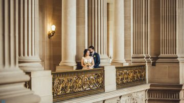 San Francisco City Hall Wedding Photography and Cinematography