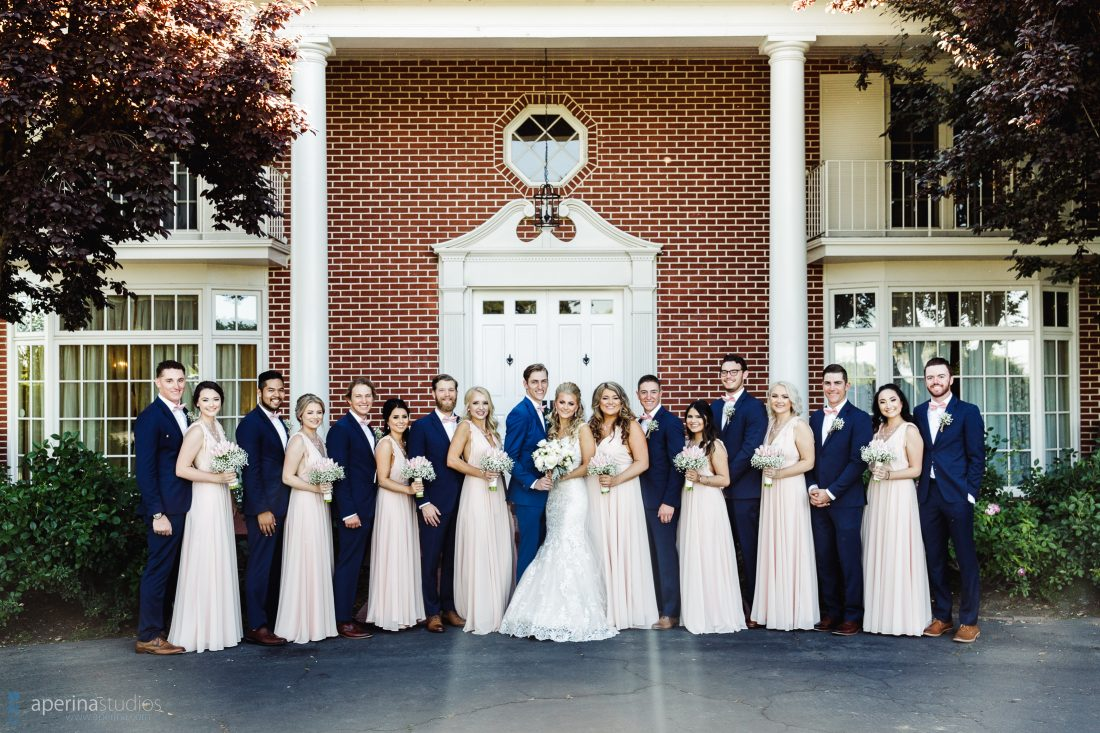 Colonial Style Wedding at Grace Vineyards
