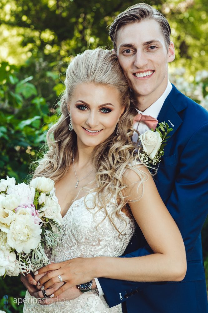 Bride and Groom Portrait - Lodi Wedding Photography