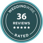 Aperina Studios Reviews on wedding wire - 36 5 Star Rating