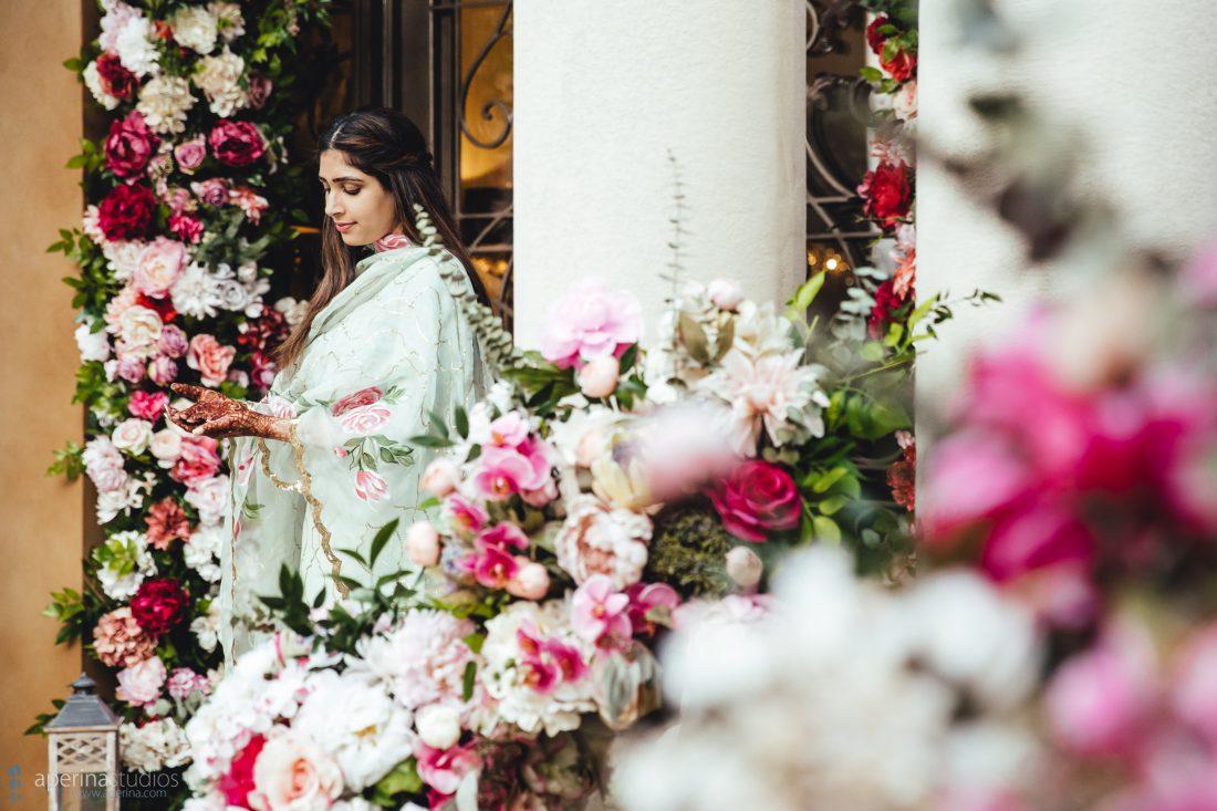 Indian Wedding Henna Design - Mehndi Ceremony
