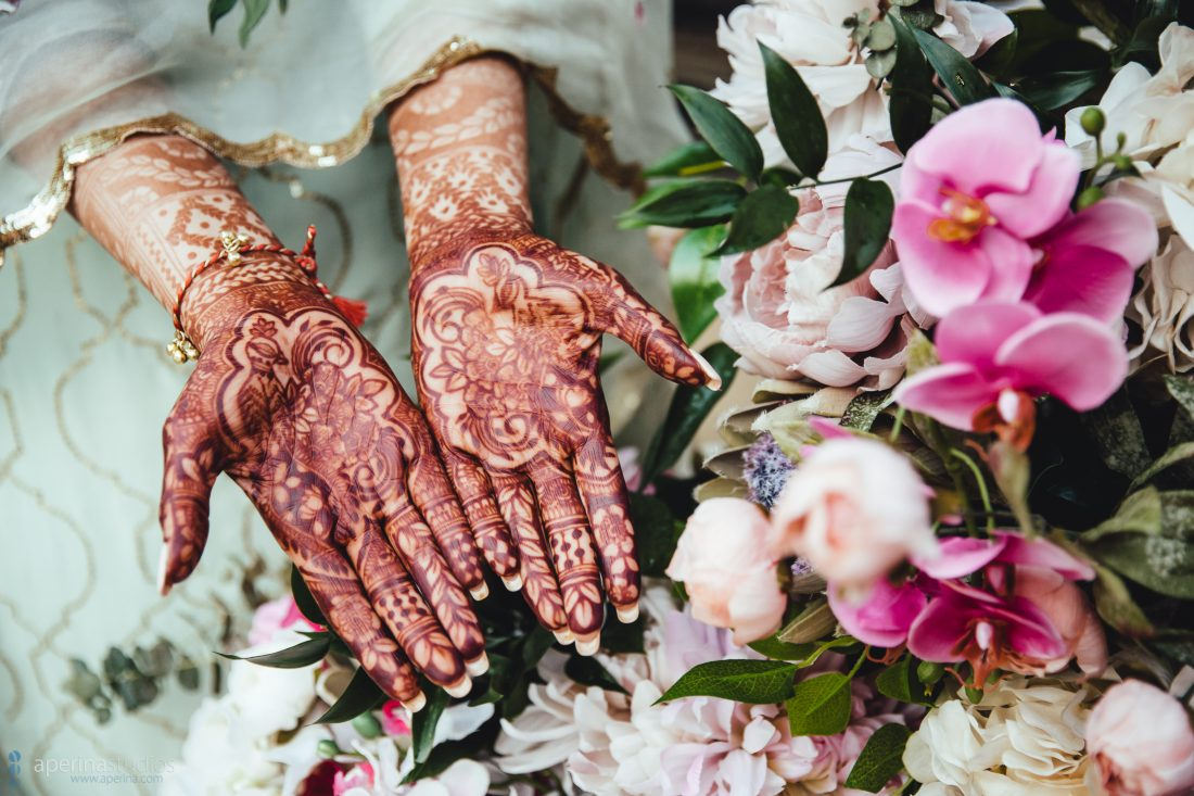 Henna Design Inspiration - Indian Wedding Photography