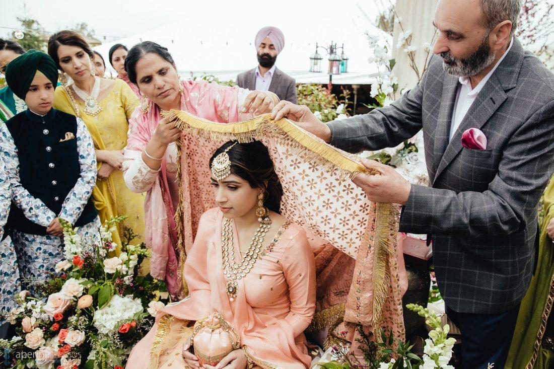 Navroop's Chunni Ceremony - Wedding Photography