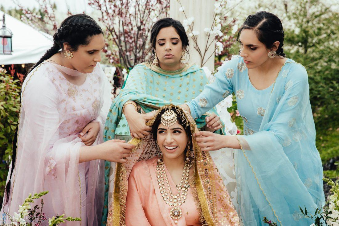 Indian Wedding Chunni Ceremony - Wedding Photography
