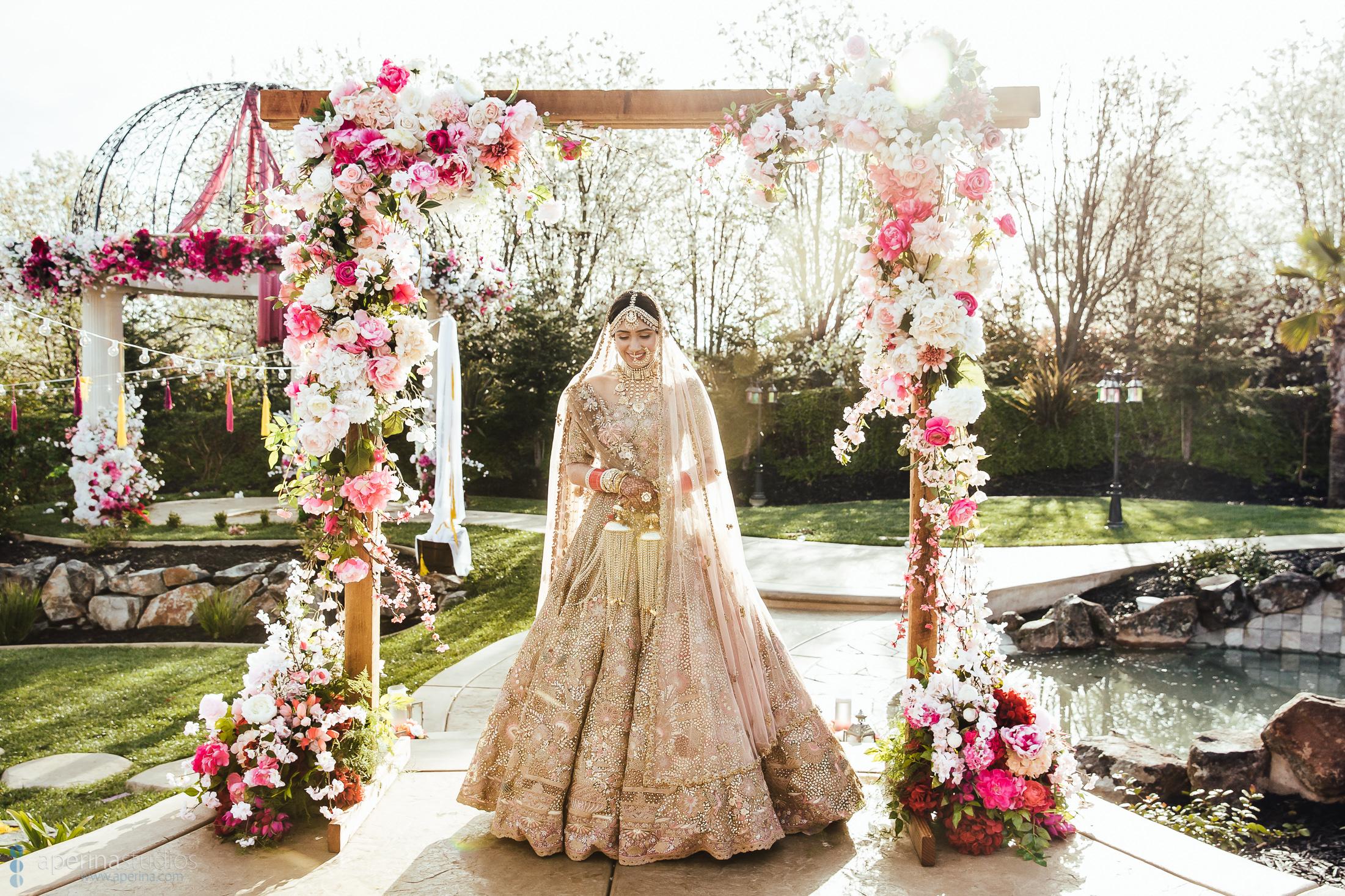 Indian Bridal Portraits - Luxury Indian Wedding Photography