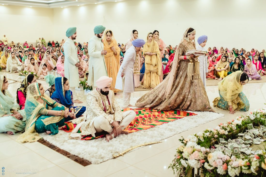 Sikh Wedding - Bridal Entrance