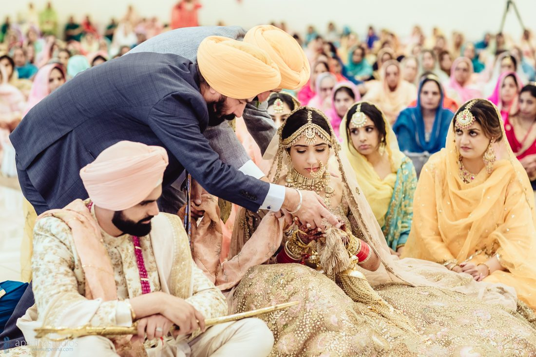 Sikh Anand Karaj - Indian Wedding Photoraphy