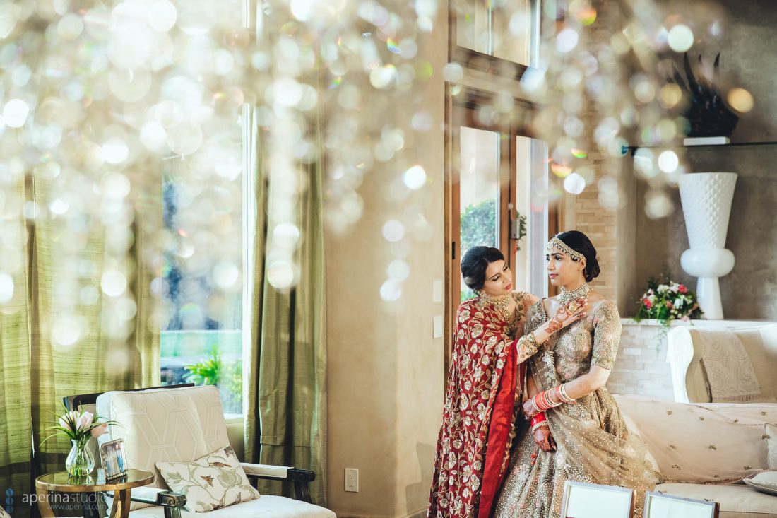 Indian Bridal Prep Shots - Indian Wedding Photography