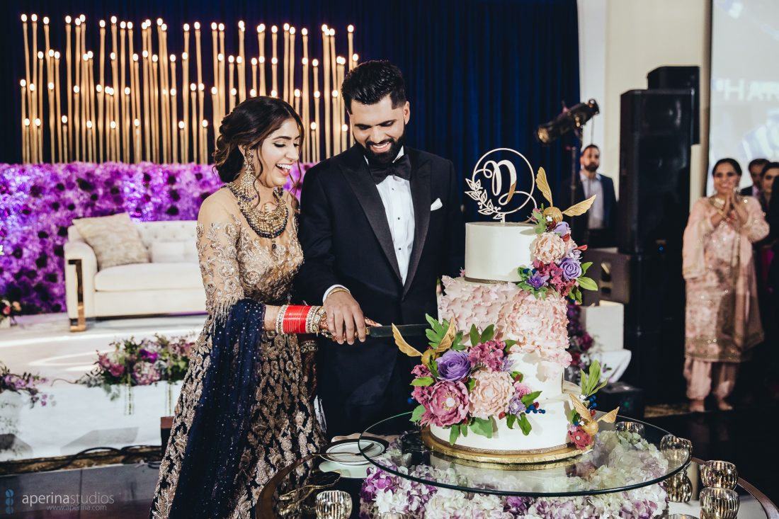 Indian Wedding Reception Photography by Aperina Studios - Indian Wedding Photographer