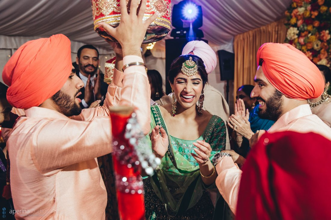Sangeet Dancing - Indian Wedding Photography