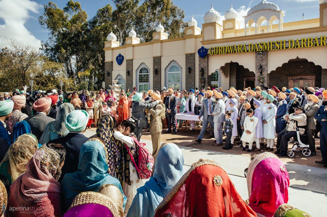 Barat at an Indian Wedding - Sikh Wedding Photographer