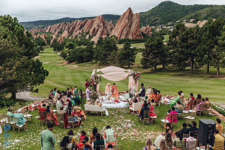 Destination Wedding at Arrowhead Golf Club - Indian Wedding Ceremony