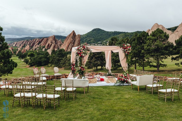 Destination Wedding at Arrowhead Golf Club - Wedding Ceremony