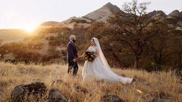 Outdoor Wedding under an Oak Tree in Sutter, CA - Jacob & Jacqueline