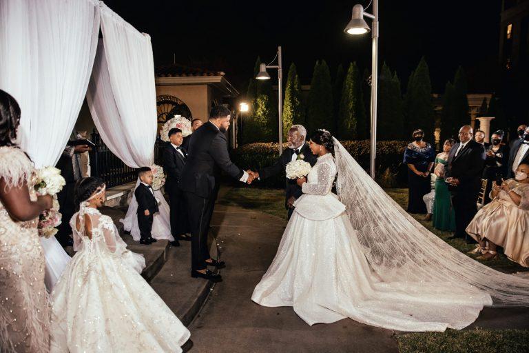 Bridal Entrance - Luxury Alabama Wedding