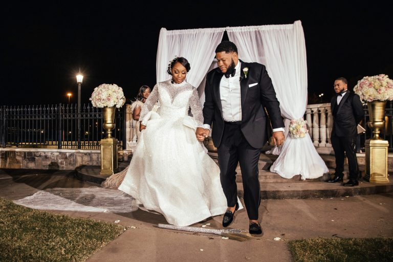 Jumping over the Broom - and African American Wedding Tradition