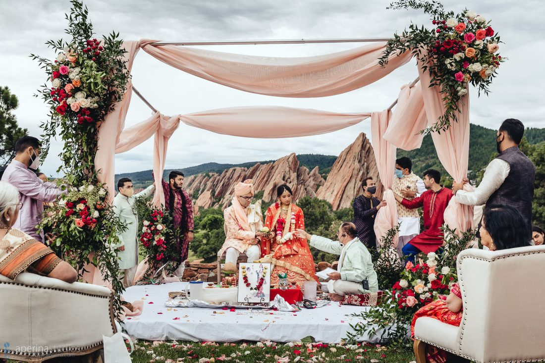 Indian Wedding Photography by Aperina Studios - Hindu ceremony rituals and traditions.
