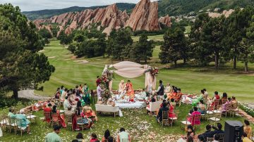 Destination Indian wedding photographer - Hindu Wedding in Denver, CO at the Arrowhead Golf Course
