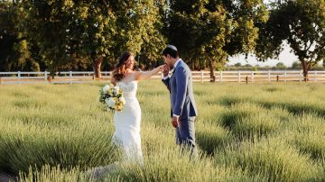 Pageo Lavender Farm Wedding in California - Nandie and Emilys - Jewish and Sikh Wedding